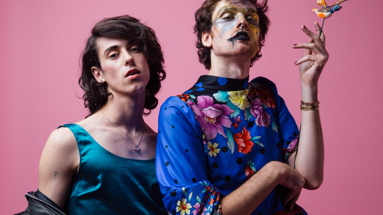 A couple of years ago, Liv Bruce and Ben Hopkins became PWR BTTM. The duo bonded in college over their mutual love of performance and drag artistry.