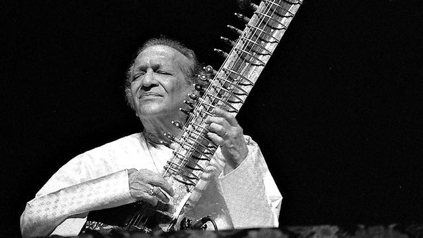 "Today, we celebrate Ravi Shankar's 90th birthday. Born into an orthodox Brahmin family, the classically trained sitar master has remained true to his roots while influencing many Western musicians, including The Beatles. Today's Top Tune, from the Nine Decades album, is an unusual piece. It's a devotional chant introduced by Ravi Shankar as he rehearses with temple priests for the filming of 'Raga,' a documentary film produced by George Harrison circa 1968. Today's Top Tune is ""Durga Suktam & Durga Stotram""."