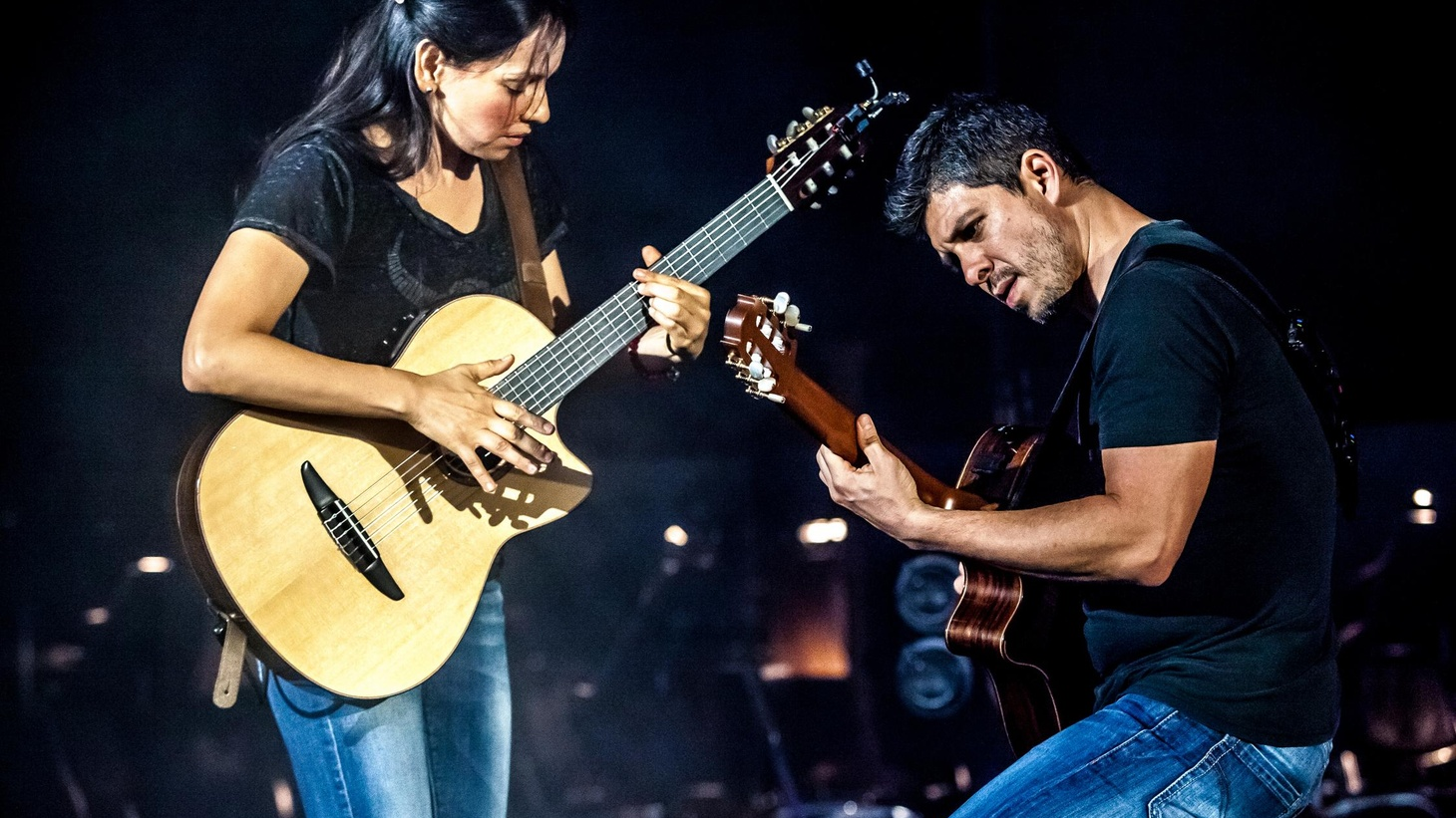 Master guitarists Rodrigo y Gabriela transform their instruments into percussive vehicles of melody on Today's Top Tune.