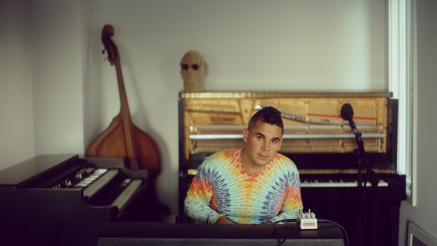 """Feeling like you need to break out and take a road trip? Grab your love, pack your bags, and plug in Rostam's """"4Runner."""" With a 12 string guitar and bright percussion bringing the sunshine, this track explodes with happy euphoria."""