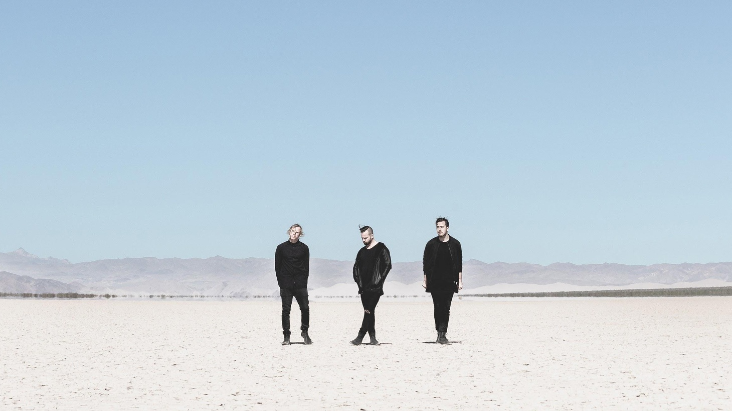 """Solace"" takes many forms, but in this case we're talking about the forthcoming album that live-electronic trio RÜFÜS DU SOL took a year to write and record in Venice, CA."
