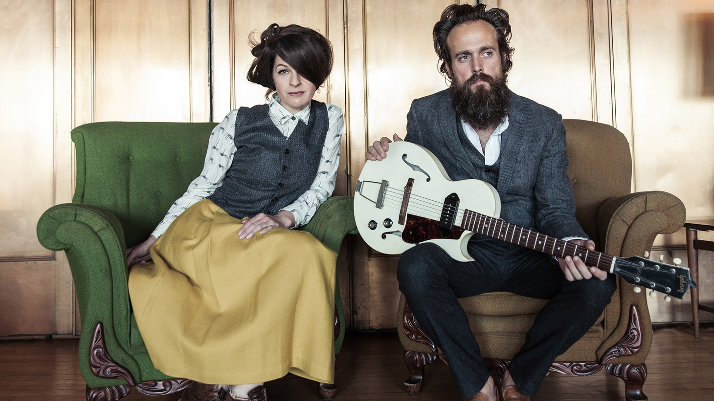 Sam Beam (Iron & Wine) and Jesca Hoop are a natural fit as they are individually talented singer-songwriters.