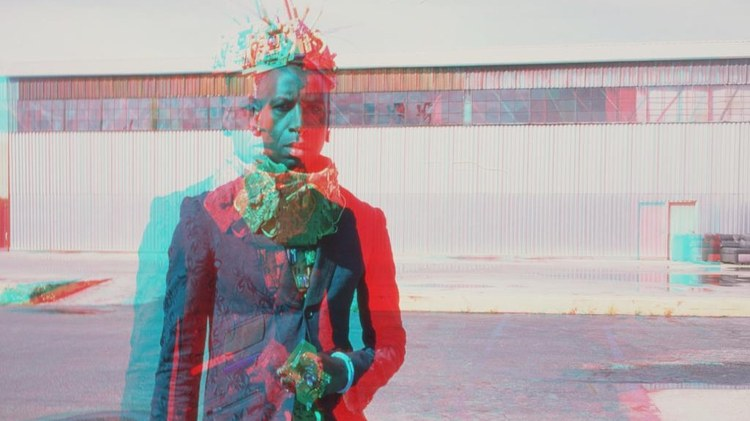 The second in poet and performer Saul Williams' album trilogy, Encryted & Vulnerable, is part of a multi-platform project overseen by Hamilton's Lin-Manuel Miranda.