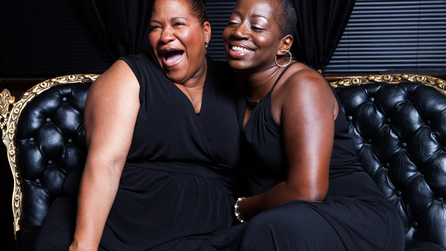 Saun & Starr have been singing together since they met at an open mic in Harlem back in the 80's. They've found the limelight as the duo backing Sharon Jones & The Dap-Kings and now they're releasing their own debut.