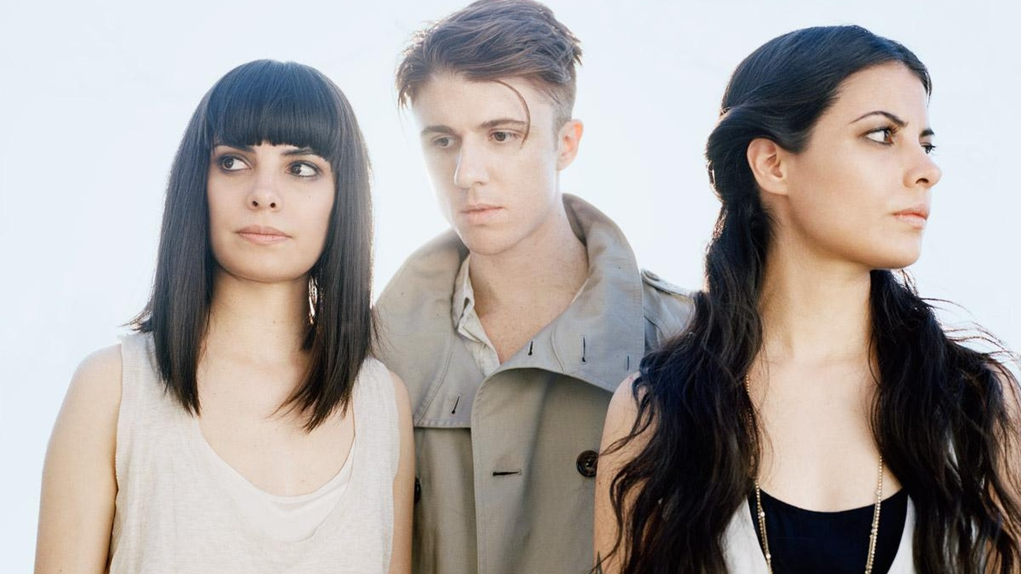 """School of Seven Bells' new album, Disconnect From Desire, is one of the most played on KCRW. The band features electronics-enhanced dream pop played by a former member of Secret Machines and a set of twin sisters. Today's Top Tune is an hypnotic mix called """"Dust Devil""""."""