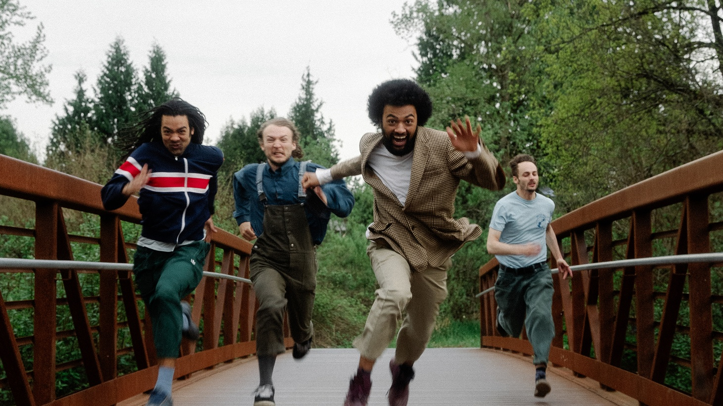 """Funky and fabulous Schwey has us dancing to their breezy jams day and night. Anthony Valadez made their album, """"Schwey 2: Cyber Soul,"""" his favorite so far in 2021 , you'll know why when you hear """"Was It You."""""""