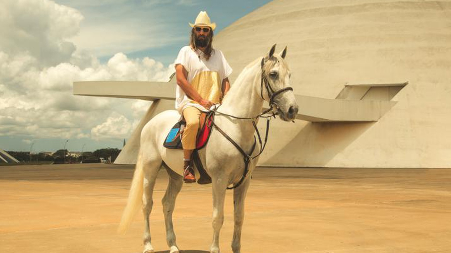 """Seductively French, Sebastien Tellier reconstructs his childhood through an aural fantasy inspired by tropical Brazilian sounds with a cool 70's vibe. Today's Top Tune is """"Sous Les Rayons Du Soleil"""" (Under The Rays of the Sun)."""