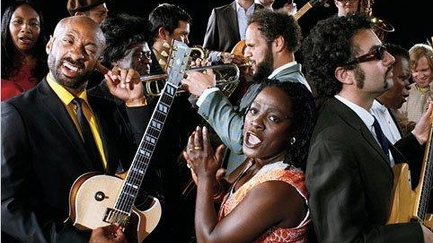 "Sharon Jones has been instrumental in guiding soul music back to a more traditional sound. Her fourth release, I Learned The Hard Way, captures the singer's warm vocals, infectious delivery and features the almighty Dap-Kings. Today's Top Tune is destined to be a classic, it's ""She Ain't A Child No More."""