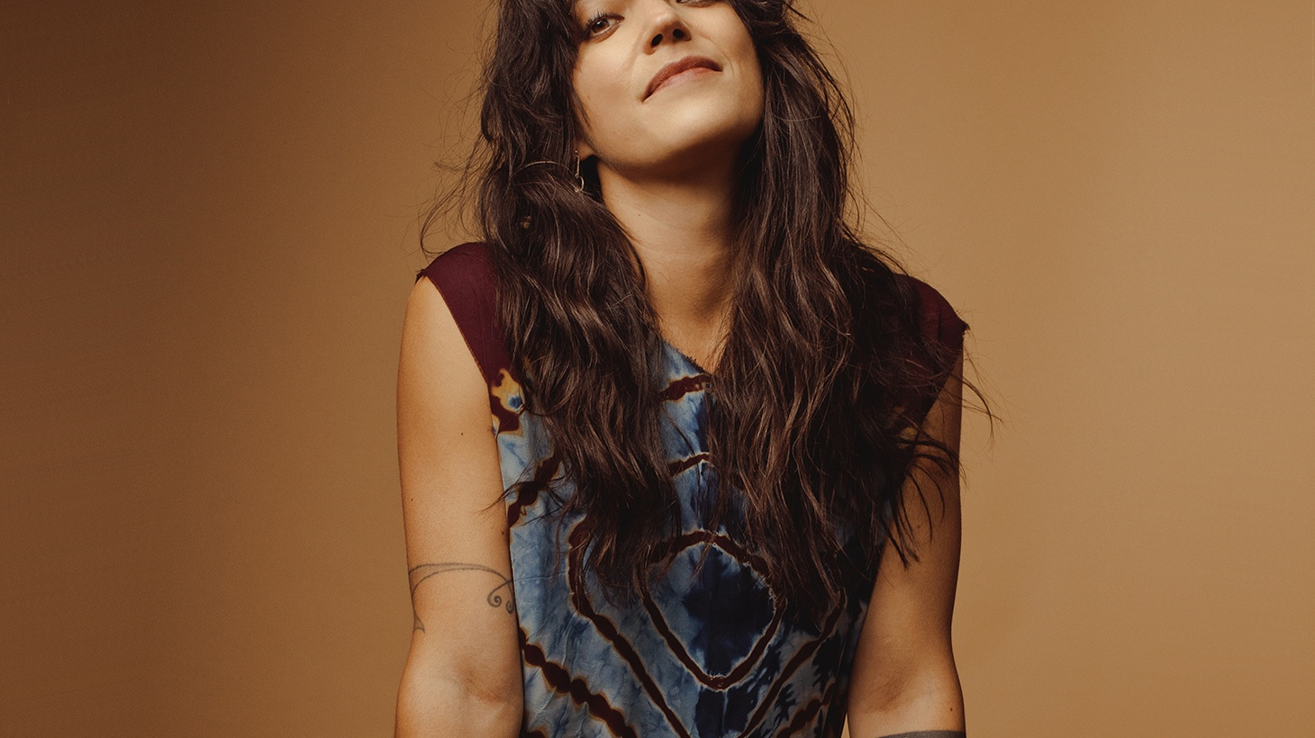 """Sharon Van Etten wants AND does it all. She says: """"I want to be a mom, a singer, an actress, go to school, but yeah, I have a stain on my shirt, oatmeal in my hair and I feel like a mess, but I'm here. Doing it."""