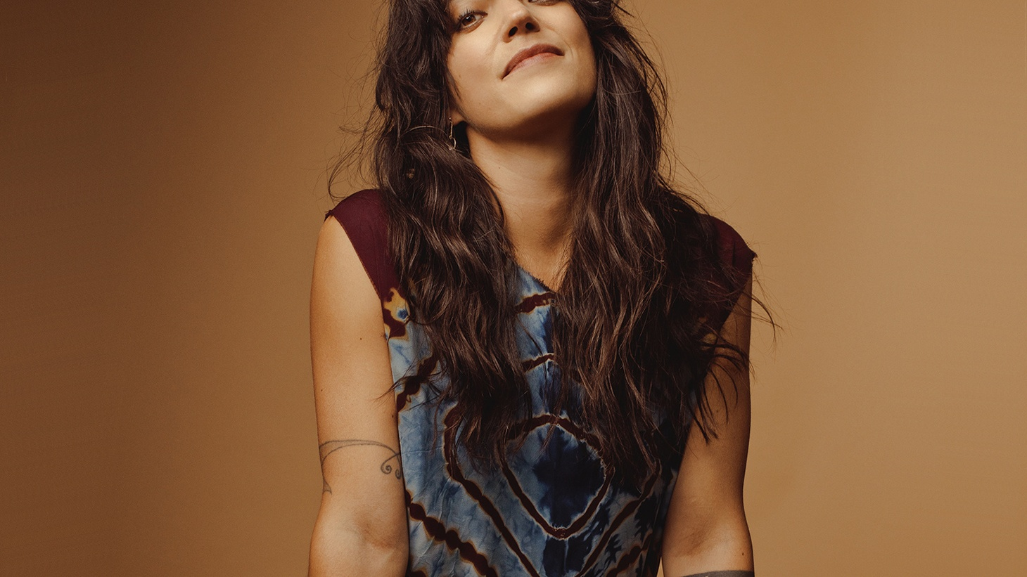 "Sharon Van Etten wants AND does it all. She says: ""I want to be a mom, a singer, an actress, go to school, but yeah, I have a stain on my shirt, oatmeal in my hair and I feel like a mess, but I'm here. Doing it."
