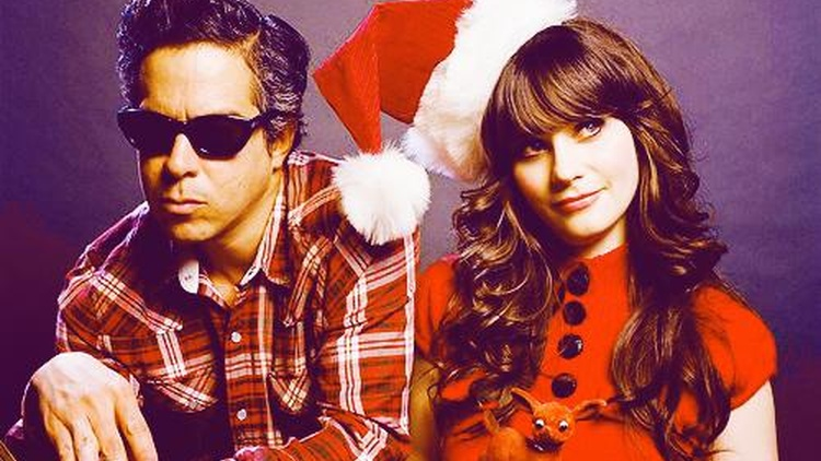 As a tribute to the holiday season, we offer a song from She & Him -- a project from Zooey Deschanel and M. Ward --as they reinterpret an album's worth of classics.