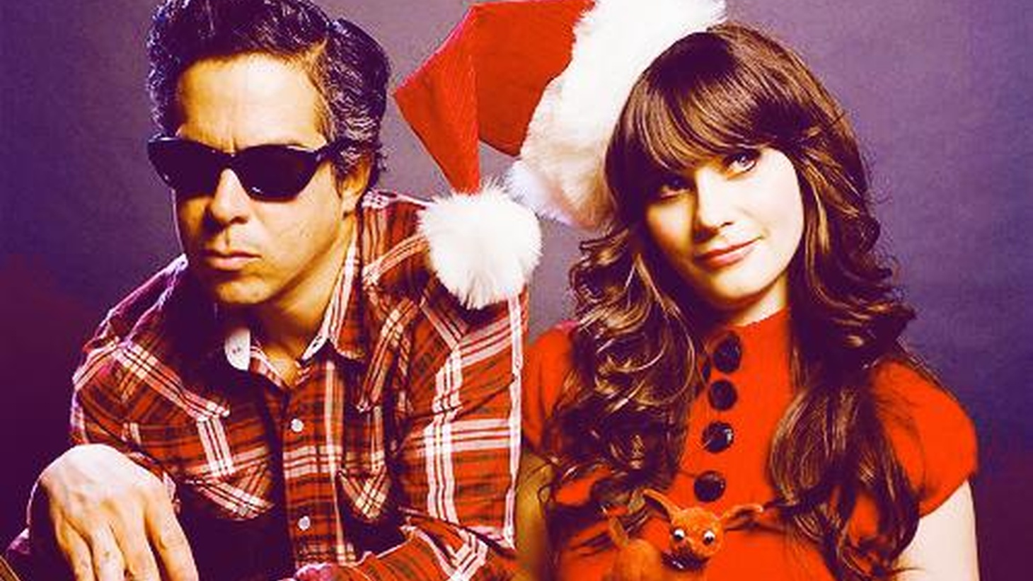 """As a tribute to the holiday season, we offer a song from She & Him -- a project from Zooey Deschanel and M. Ward --as they reinterpret an album's worth of classics. Today's Top Tune is """"The Christmas Waltz,"""" from A Very She & Him Christmas."""