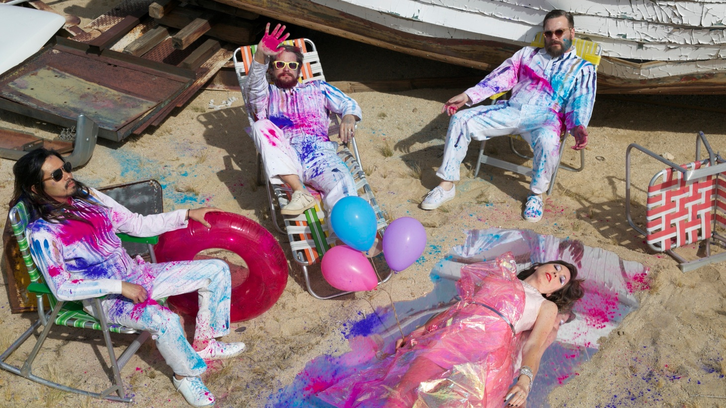 Born in the woods of Topanga, Silversun Pickups will reveal their fourth studio album, on their own label late September.