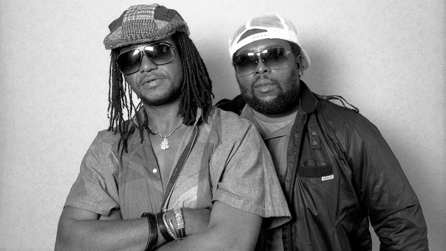 """Pillars of Jamaican music Sly & Robbie are the Riddim Twins, propelling beats for over 40 years. Their work is catchy, thick, and always tasty, as we hear on the instrumental """"Linstead Market."""""""
