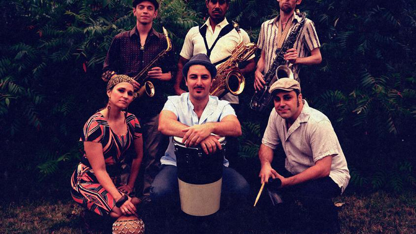 The Souljazz Orchestra offers a mystical journey that traverses Egyptian Jazz, Latin stylings and Afro Beat.