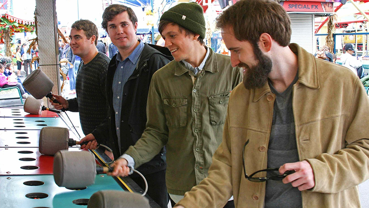 Beloved band Surfer Blood wrote and recorded their third album entirely at home.
