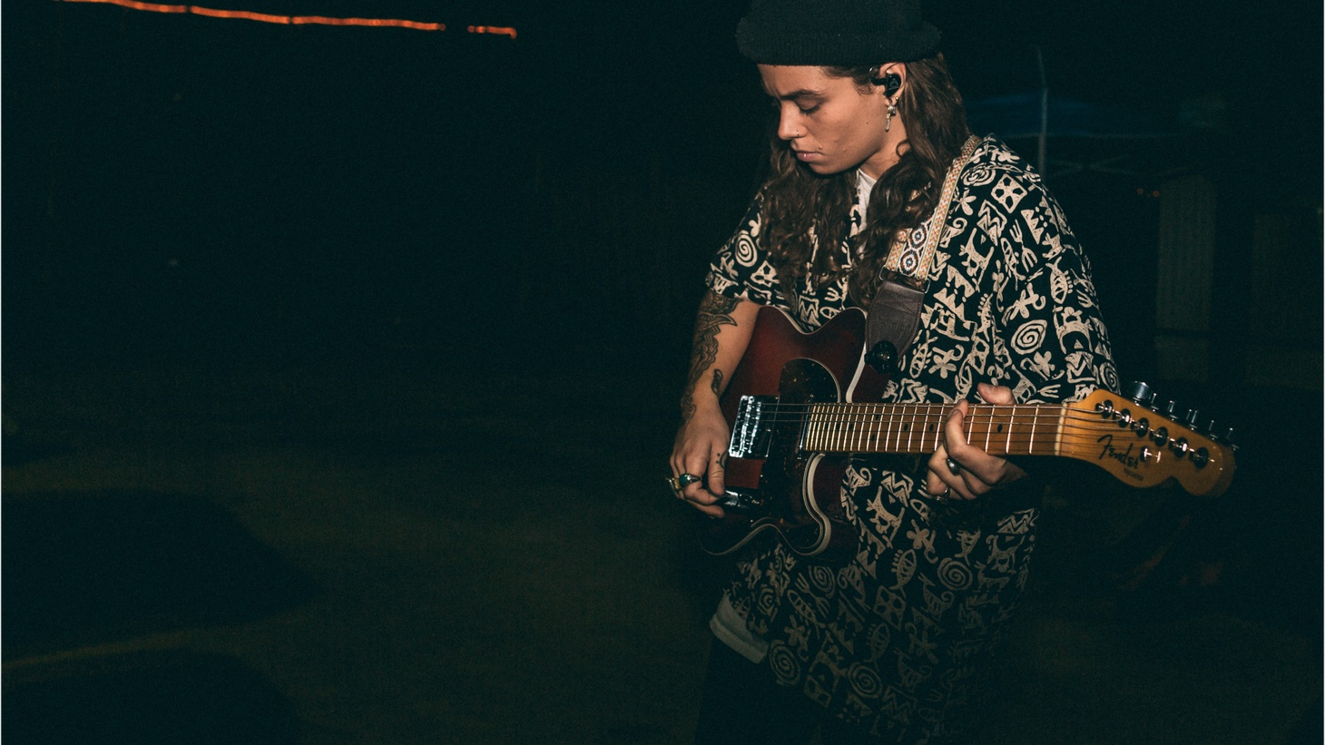 If you have a chance to listen to Tash Sultana's debut album, you'll hear all 15 of the instruments she played on the recording; from the pan flute to the loop pedals.