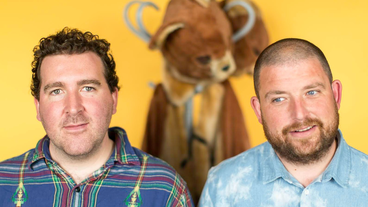 The 2 Bears is a London duo composed of Joe Goddard (Hot Chip) and Raf Rundell.