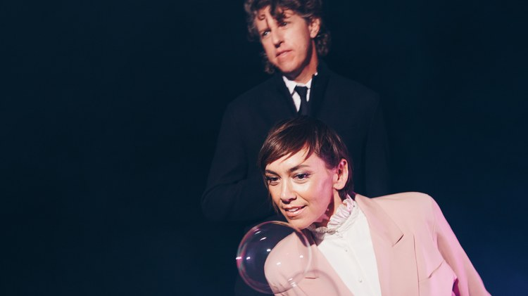 The Bird and The Bee, comprised of Grammy Award-winning Greg Kurstin and the uber-talented Inara George, are cool chameleons whether covering work by Hall and Oates or Van Halen.