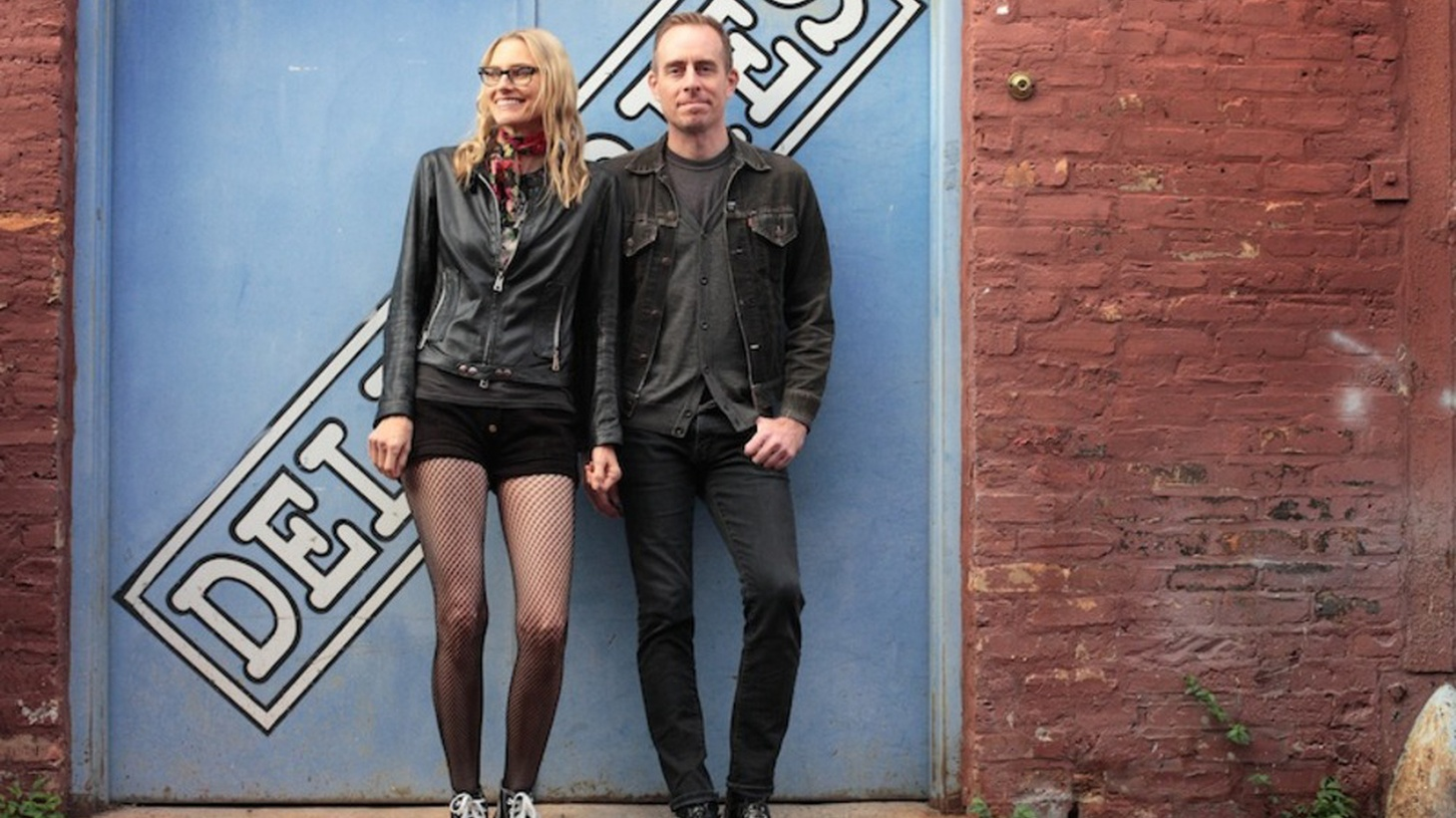 Singers Aimee Mann and Ted Leo work together as The Both, and this holiday season they get their yuletide cheer on with a sweet song commemorating the occasion.