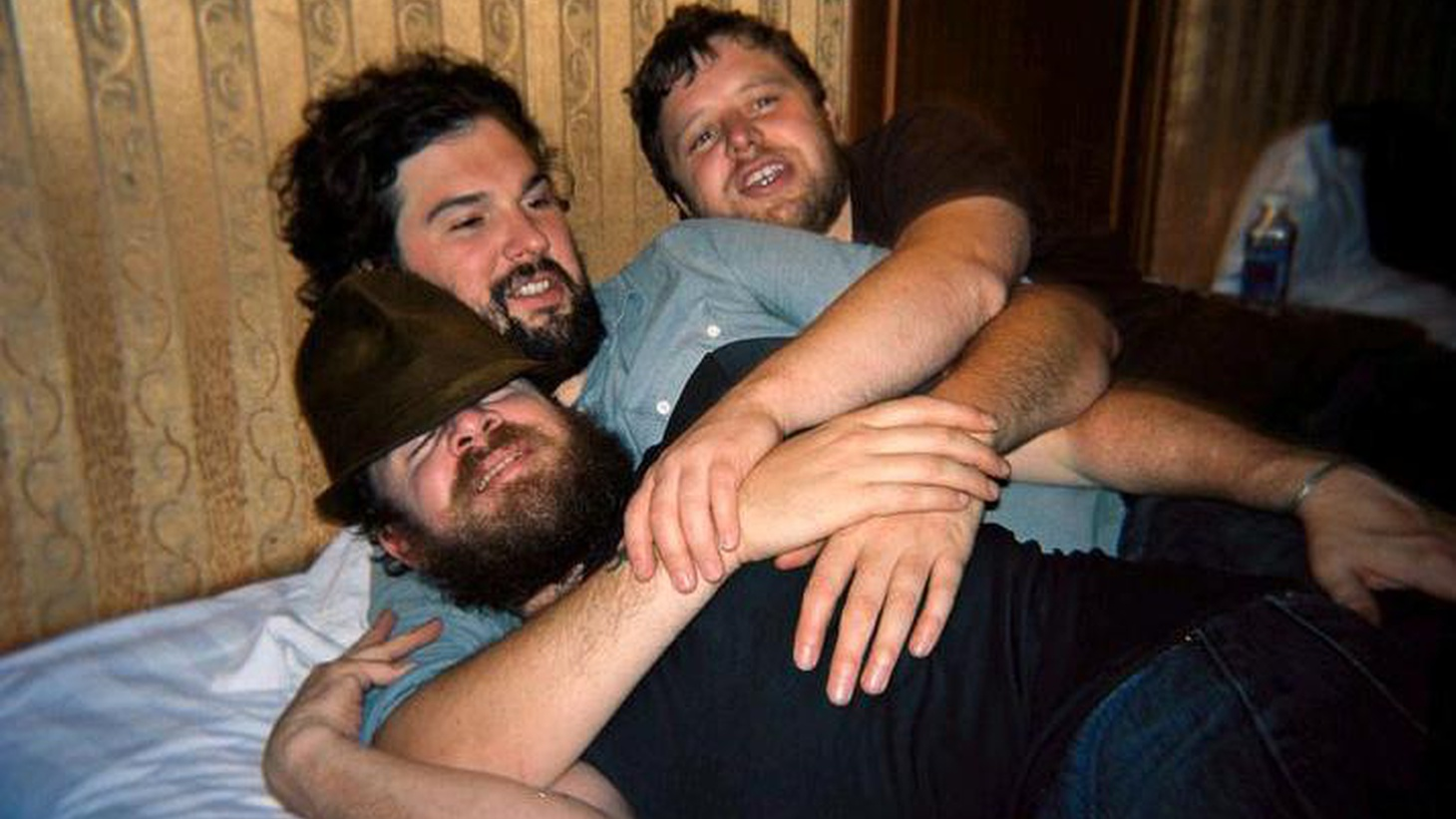 """The three members of The Cave Singers all started out in rock bands, including Seattle's beloved Pretty Girls Make Graves, but their first two recordings together were acoustic endeavors. Their third release, No Witch, begins their transition into a more electric sound. Today's Top Tune is somewhere in the middle. It's """"Swim Club."""""""
