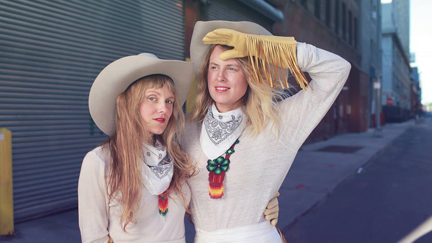 "Recorded in the hills of Echo Park at Jonathan Wilson's studio, the Chapin Sisters recruited members from Hot Hot Heat, the Tyde and A Fine Frenzy for their song ""Angeleno,"" a bittersweet, country-infused postcard to LA."