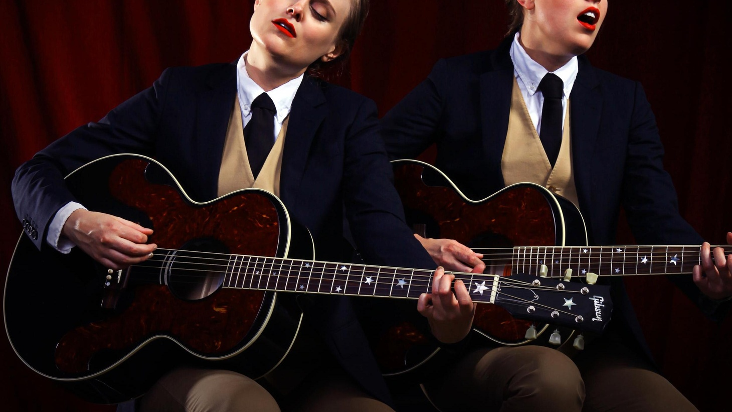 The Chapin Sisters have been touring as the backing vocalists for She & Him and, on their own full-length, tackle harmonies made famous by The Everly Brothers.
