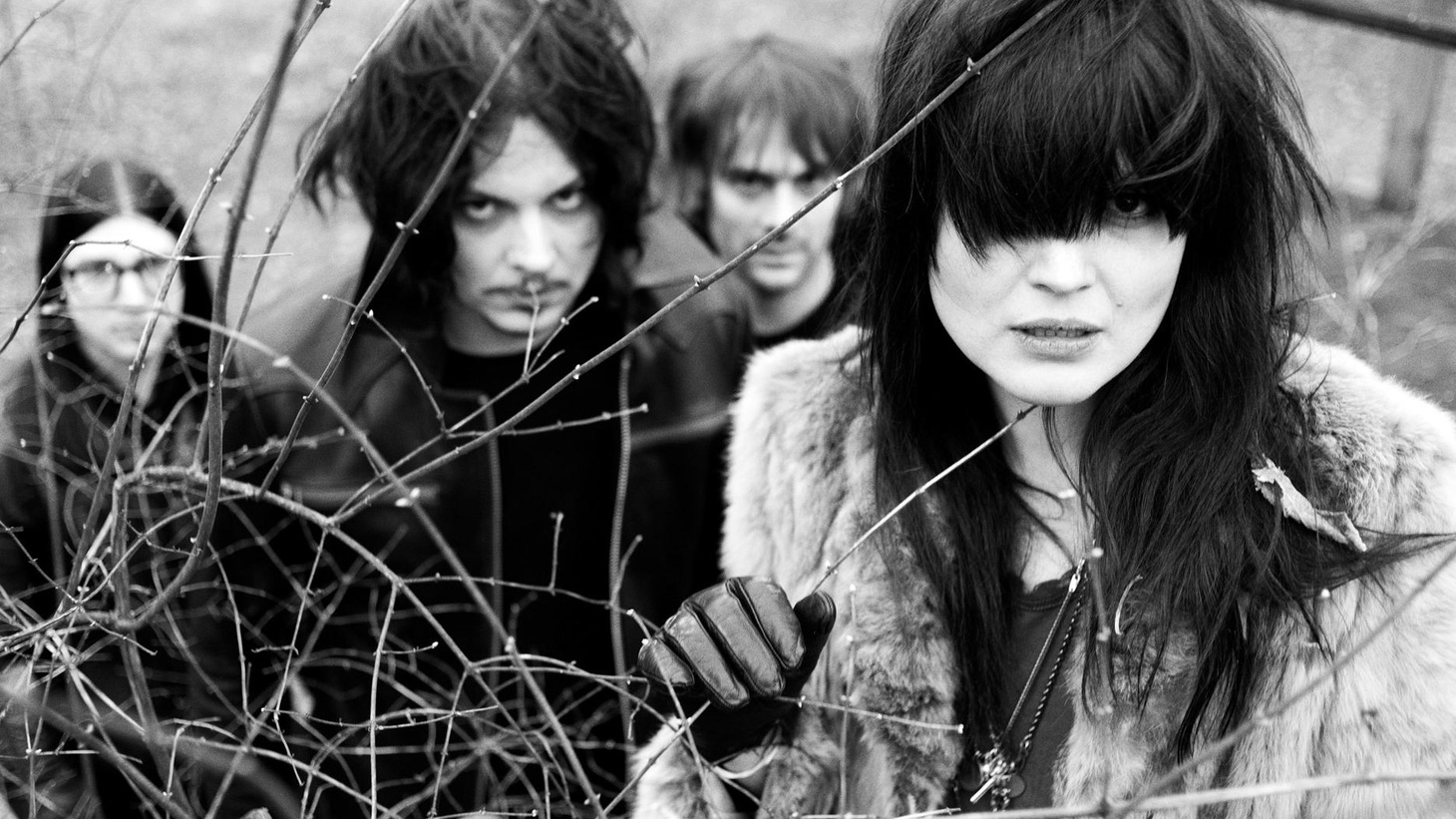 """...from Horehound.   Jack White explores his talents as a drummer in his latest band, The Dead Weather, which features The Kills' Alison Mosshart on vocals, Raconteurs' bassist """"Little Jack"""" Lawrence and Queens of the Stone Age guitarist Dean Fertita..."""