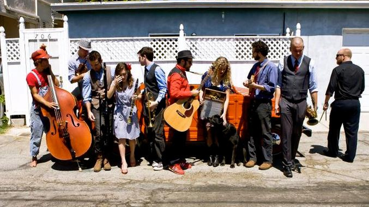 With KCRW's Halloween benefit event just around the corner, TTT features one of the featured bands. The Dustbowl Revival is a jug-band collective of raucous proportions
