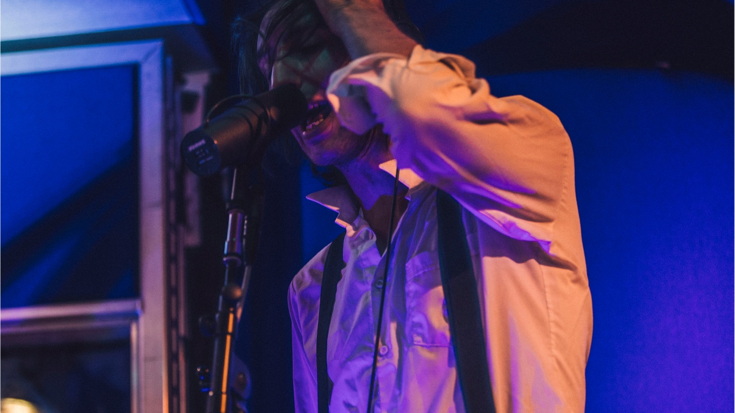 """Dark synth rockers The Horrors finished up their US tour with a session on Morning Becomes Eclectic. They left us with """"Something To Remember Me By."""""""