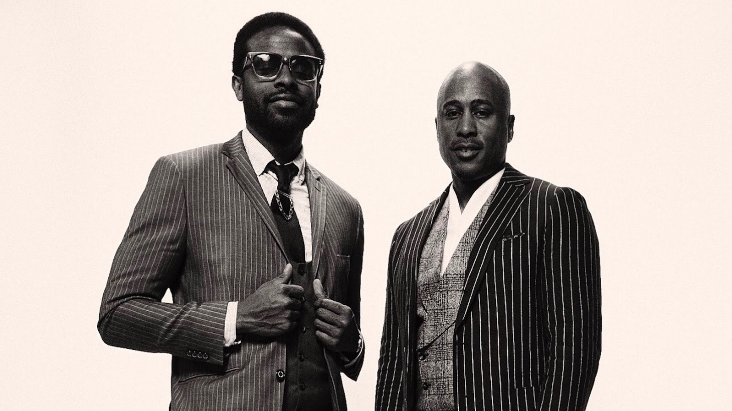 """Adrian Young and A Tribe Called Quest's Ali Shaheed Muhammad make beautiful music together alongside their ensemble The Midnight Hour. Orchestral and jazzy, you can feel the spark of love ignitedvia Loren Oden's stunning vocals on """"Harmony."""""""