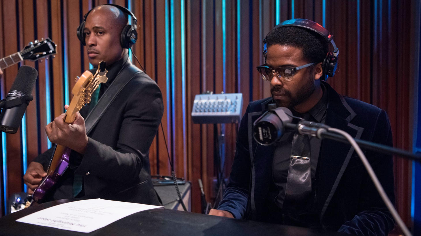 Two of hip-hop's most skilled composers, Ali Shaheed Muhammad of A Tribe Called Quest and Adrian Younge, partner up as The Midnight Hour. Their newly-released self-titled debut is a favorite across our airwaves.