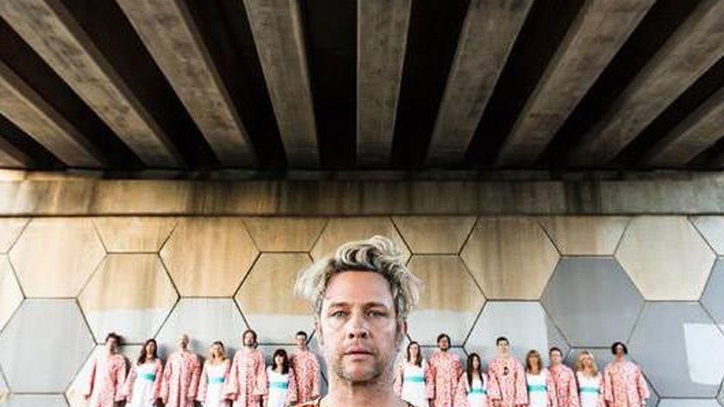 The Polyphonic Spree is back! The 22-person robed choral ensemble led by front-man Tim DeLaughter has returned with its first studio disc since 2007.