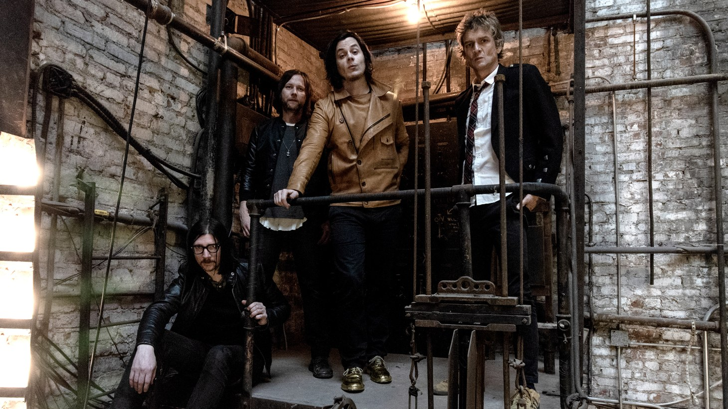After over 10 years, Jack White, Brendan Benson, Jack Lawrence & Patrick Keeler are back with new music as The Raconteurs.