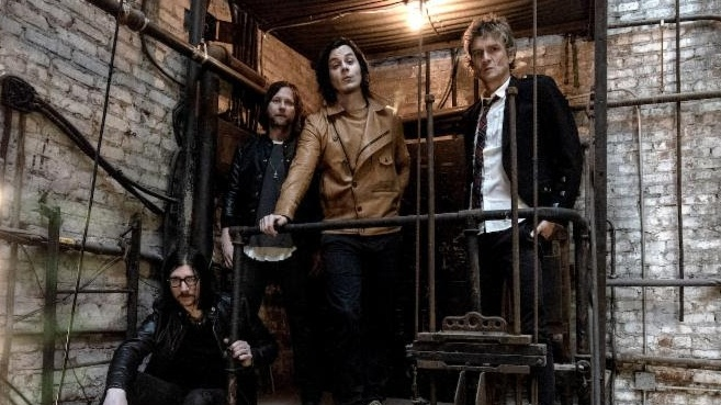 """Jack White, Brendan Benson, Jack Lawrence, and Patrick Keeler better known as The Raconteurs are back after more than 10 years! We're excited to offer """"Sunday Driver"""" featuring Jack White on lead vocals."""