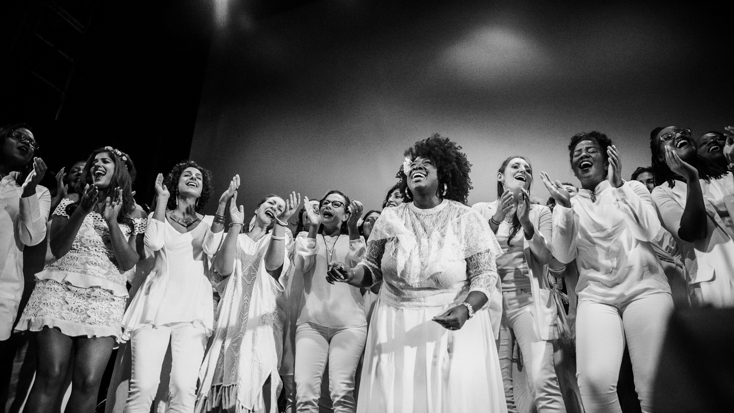 When you join over 70 strong women and non-binary singers together, you get The Resistance Revival Chorus, an outfit commited to breathing joy into the resistance and elevating women's voices into a positive and uplifting message.