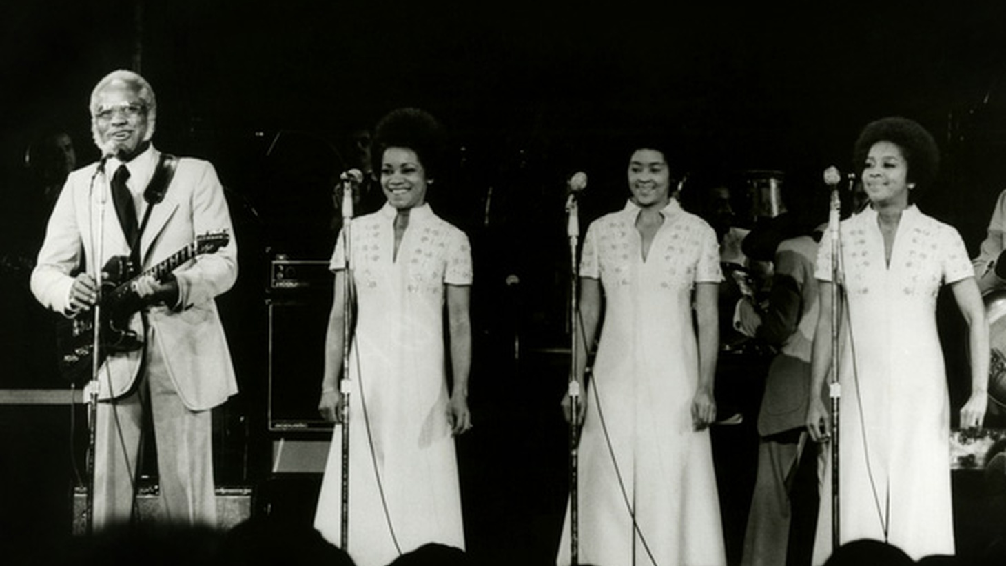 Originally recorded by the Gospel family band The Staple Singers back in 1972, I'll Take You There became a hit as Mavis Staples invited listeners to a call-and-response chorus and was later inducted into the Grammy Hall of Fame.