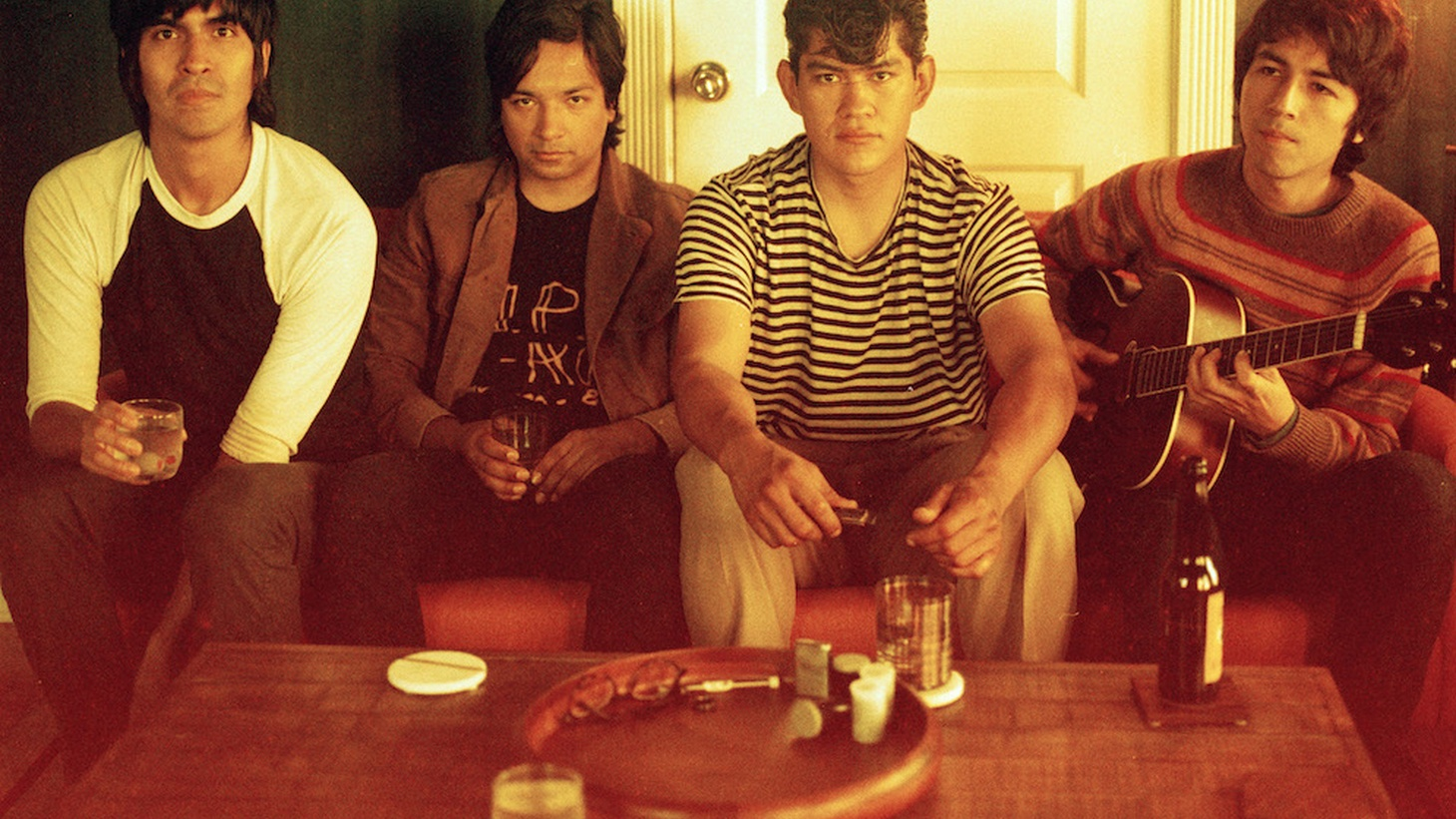 The Tracks is the moniker for 4 working class kids from East LA who met in High School.