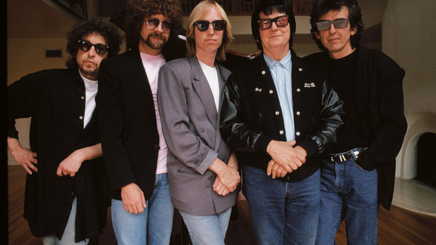 Bob Dylan, George Harrison, Tom Petty, Jeff Lynne, and Roy Orbison aka The Traveling Wilburys formed out of friendship. This super group released an amazing album that garnered a Grammy and countless accolades in 1988.