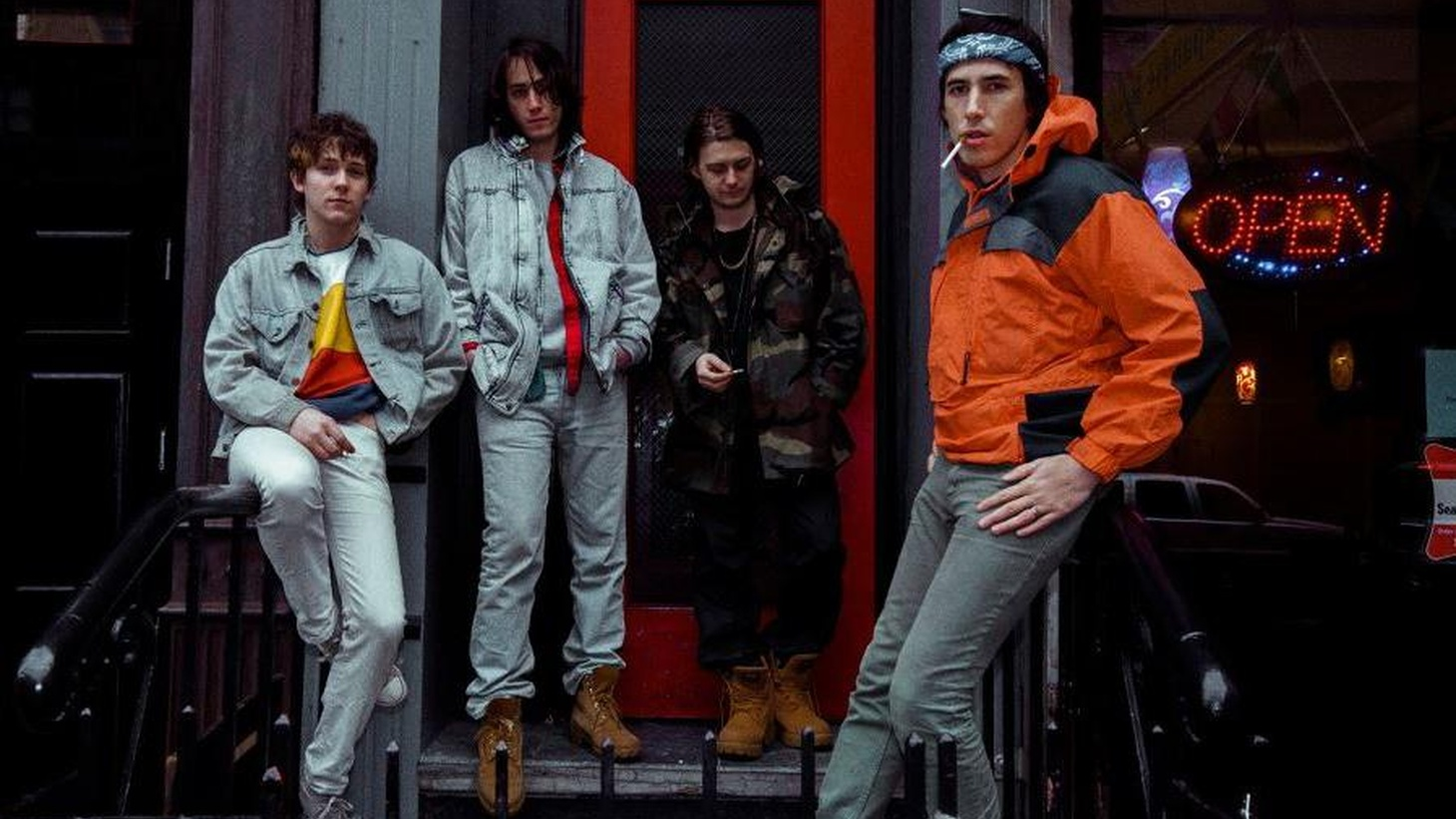 "New York-based band The Virgins struck a chord with The Strokes' front-man, who signed them to his label and was overheard saying ""I think they've made a classic record."""