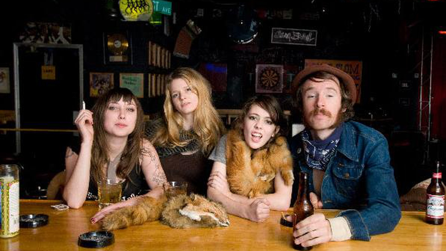 ...from their self-titled CD.   Nashville trio Those Darlins combine an old-timey country charm with a nimble rockabilly swing...