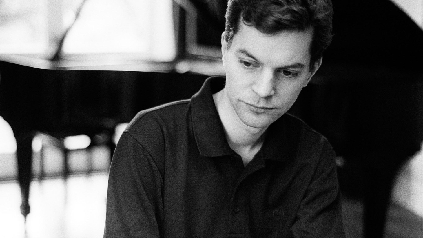...from Bach's Inventions and French Suite 5.   It's rare that we offer a classical track, but Austrian pianist Till Fellner is an extraordinary interpreter of Johann Sebastian Bach.