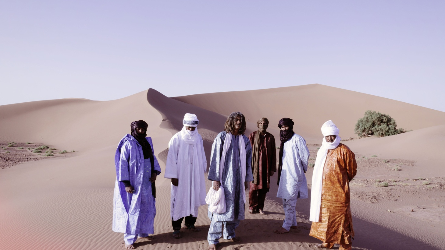 Tuareg band Tinariwen has been touring the world for years with hypnotic desert psych-blues. Meanwhile, their homeland in the Saharan mountains has become a conflict zone.