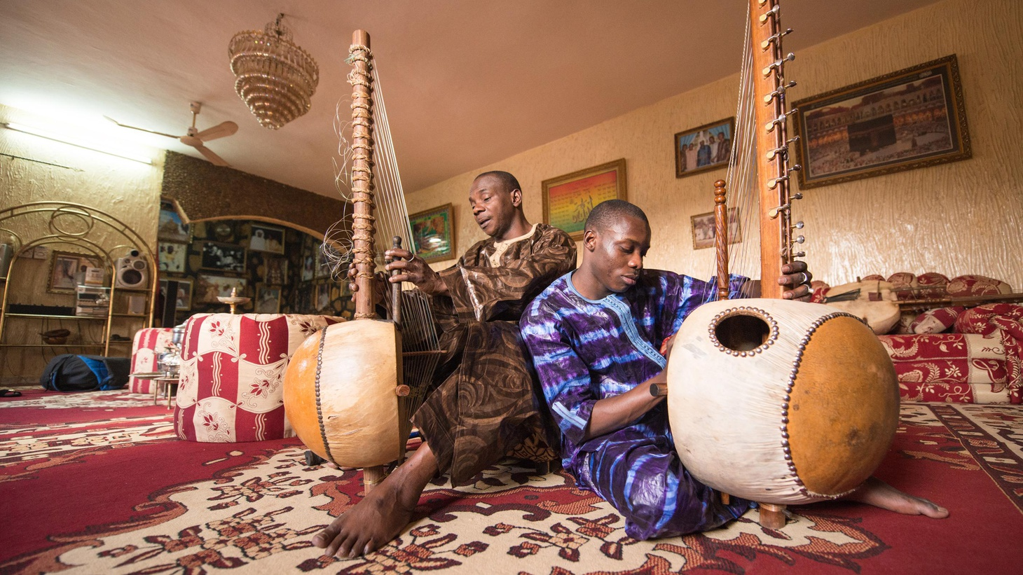 Toumani Diabaté is widely recognized as the greatest living kora player of our time. For his forthcoming album, he's teamed up with an emerging star, his son, Sidiki.