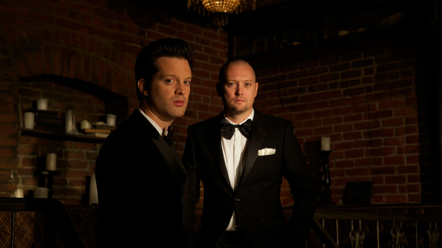 What happens when hip-hop producer Jake One pairs up with crooner Mayer Hawthorne? A side project called Tuxedo with a great boogie vibe.