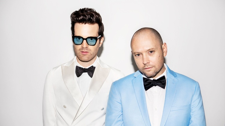 "Critically-acclaimed funk R&B duo Tuxedo, the moniker for Mayer Hawthorne and producer Jake One, started brewing a new album with the song "" Toast 2 Us ."""