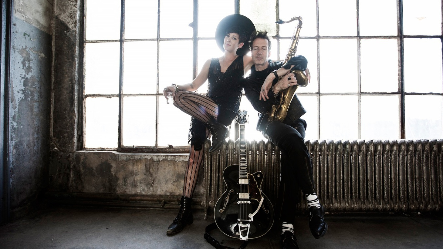 Stuart Matthewman is the Grammy-winning co-founder and saxophonist of Sade. Vanessa Bley is the daughter of renowned jazz pianist Paul Bley. Together, they are Twin Danger.