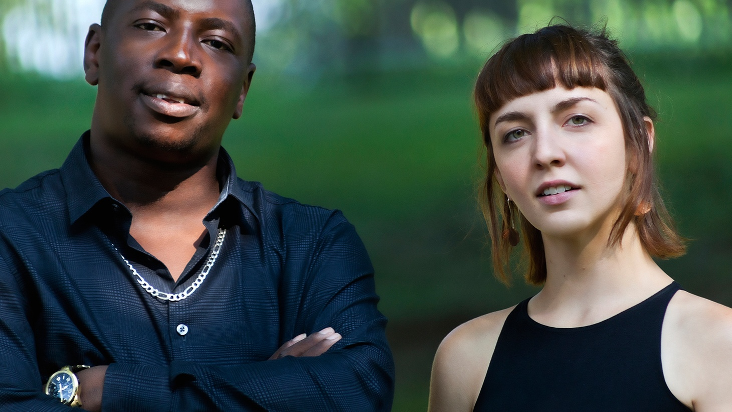 On a recent visit to NYC, Malian guitarist Vieux Farka Toure set up an impromptu studio session with American singer Julia Easterlin. The meeting was magical and a collaboration ensued.