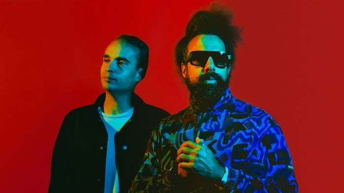 """Wajatta - the duo of beat-boxer/comedian/musician Reggie Watts and electronic genius John Tejada - buoy us up with a vibrant new track called """"Don't Let Get You Down."""""""