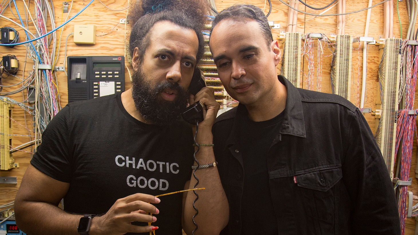 Beat-boxer, comedian, and bandleader for The Late Late Show with James Corden, Reggie Watts and DJ/electronic producer John Tejada recently made their worldwide live radio debut as Wajatta on Morning Becomes Eclectic.